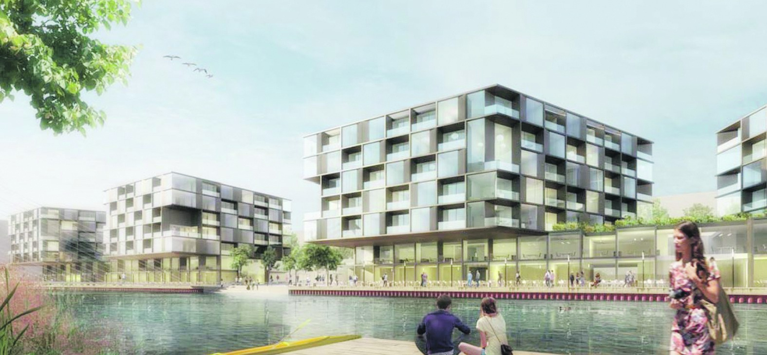 Architekt Sindelfingen bb heute der erste entwurf für die seepromenade