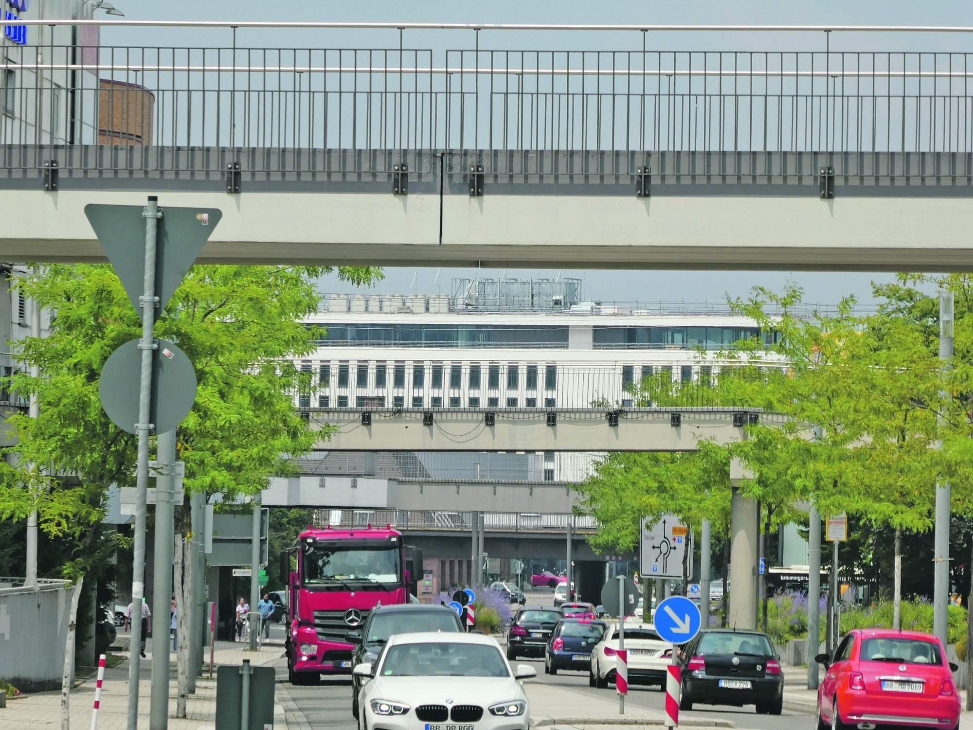 BB Heute Plan City Center und Brücken abreißen