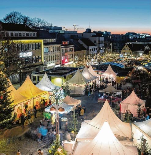 Wo Ist Weihnachtsmarkt Heute.Bb Heute Marktplatz Wird Zum Weihnachtsdorf