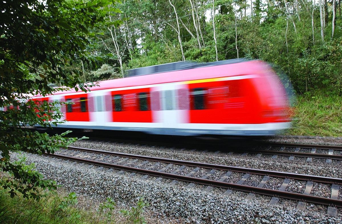 Bahnverkehr Heute