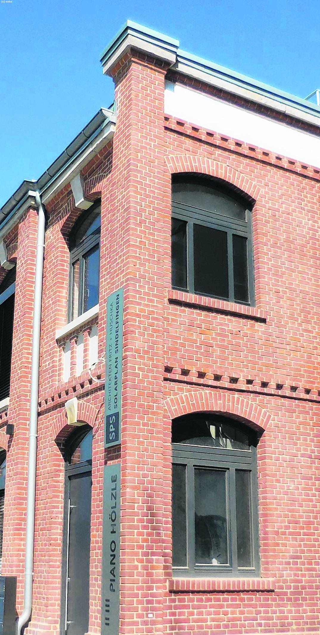 Architekturbüro Sindelfingen bb heute backstein zeigt die volle pracht