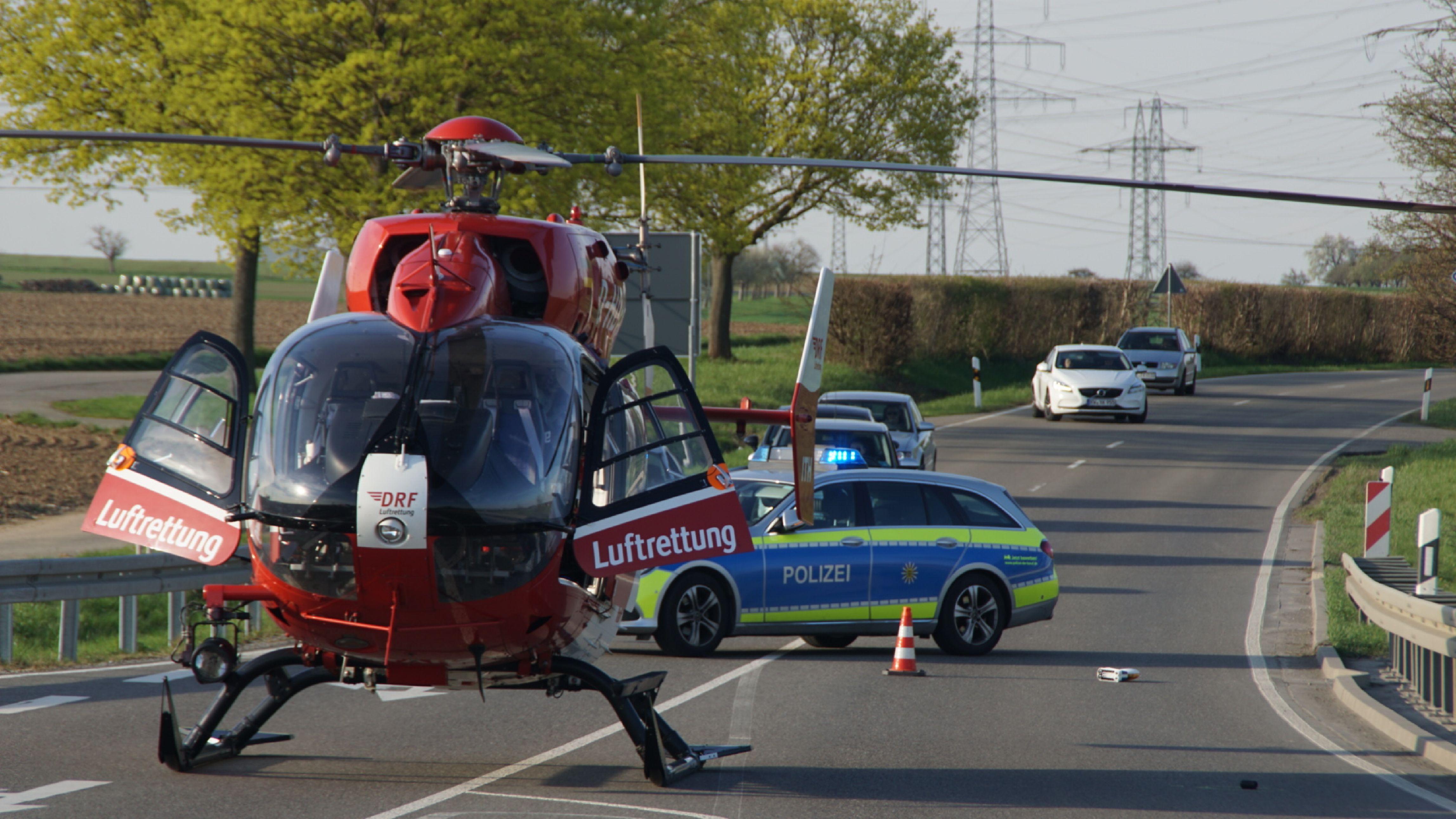 BB Heute: Maichingen: Motorradfahrer stirbt an der Unfallstelle